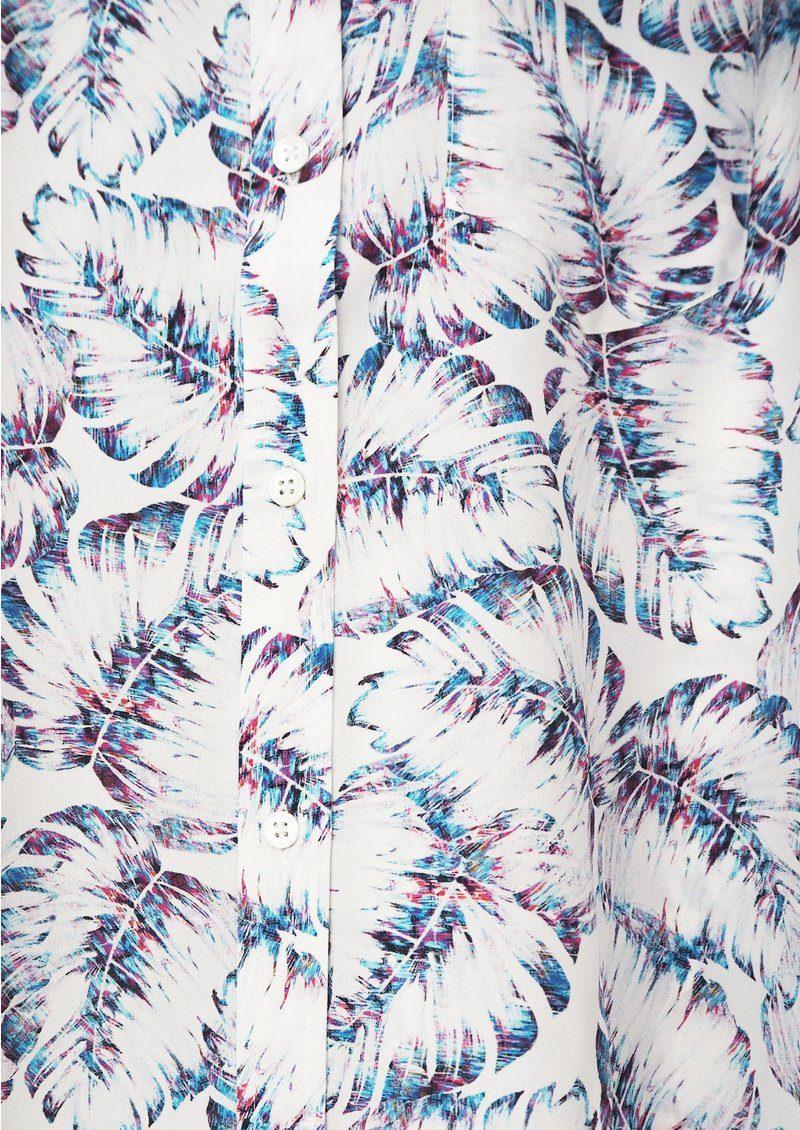 Rails Kate Silk Shirt - Neon Palm Print main image