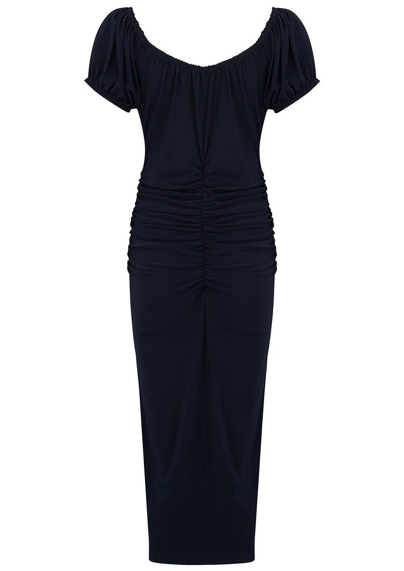 KAMALI KULTURE Sophia Shirred Waist Dress - Midnight main image