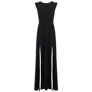 Sleeveless Elephant Dress - Black