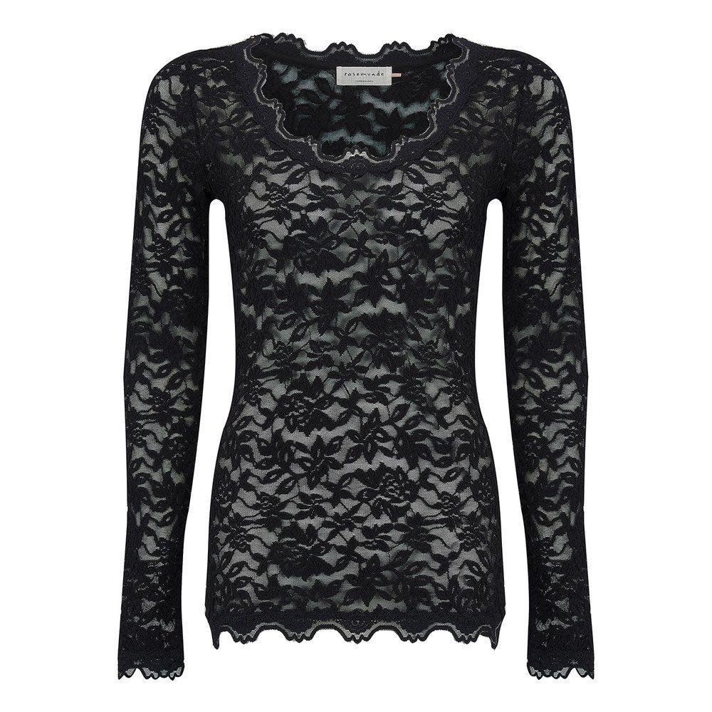 Delicia Lace Top - Black