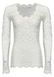 Rosemunde Delicia Lace Top - New White