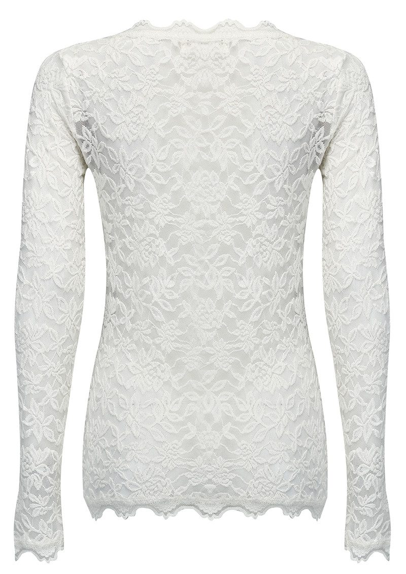 Rosemunde Delicia Lace Top - New White main image