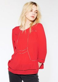 Ba&sh Wolt Blouse - Red