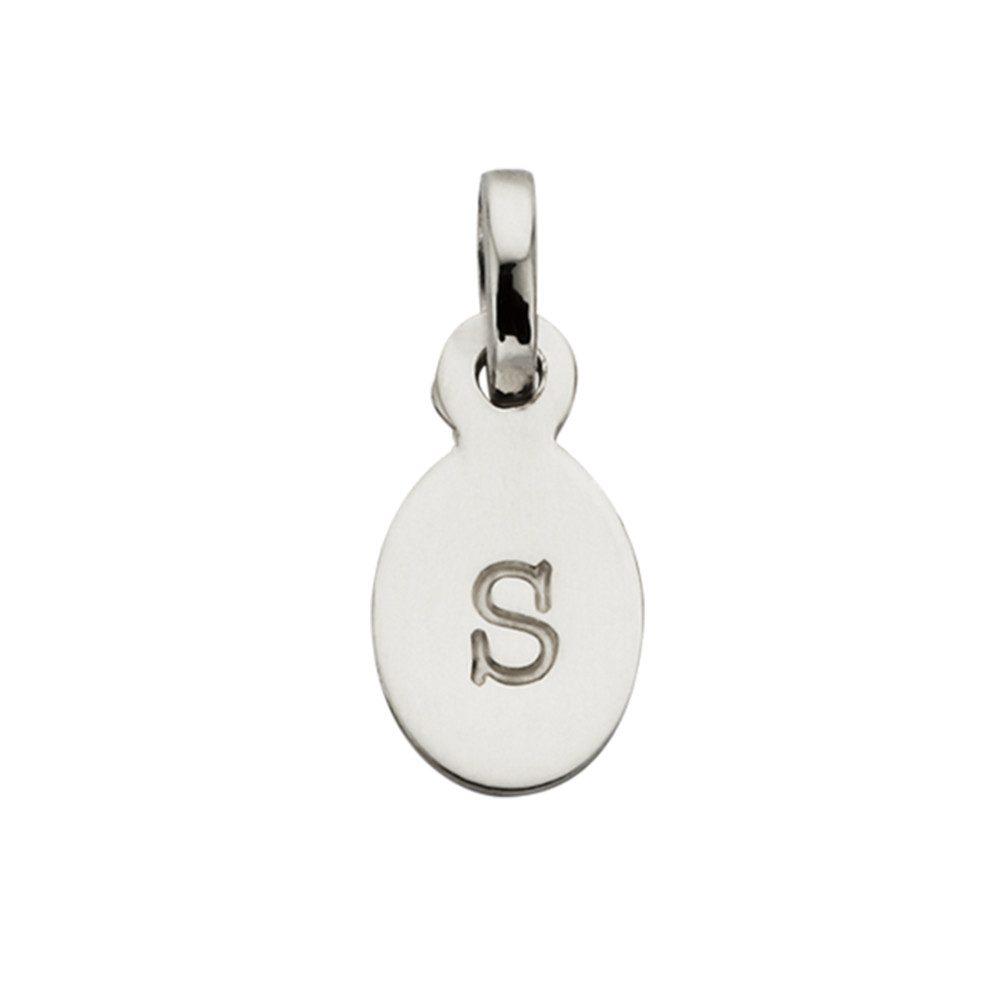 Bespoke Alphabet 'S' Charm - Silver