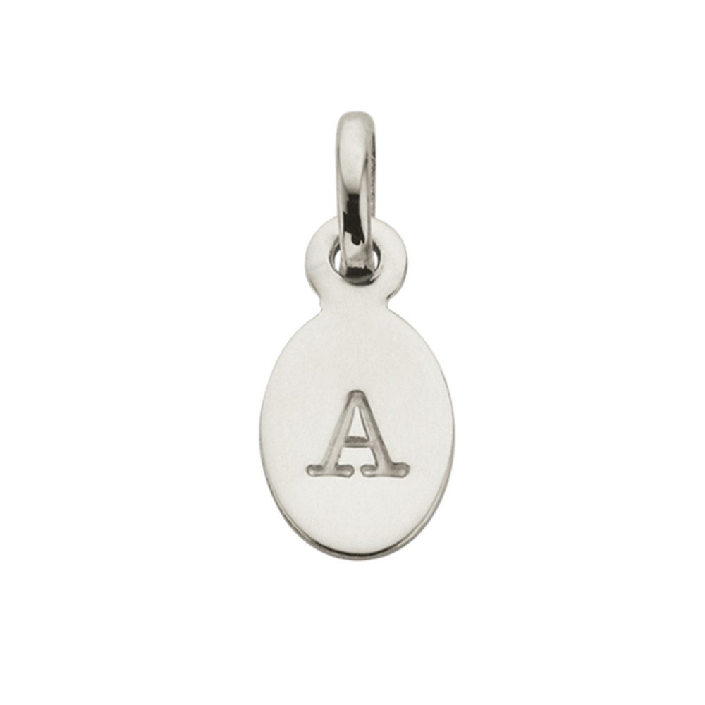 Bespoke Alphabet 'A' Charm - Silver