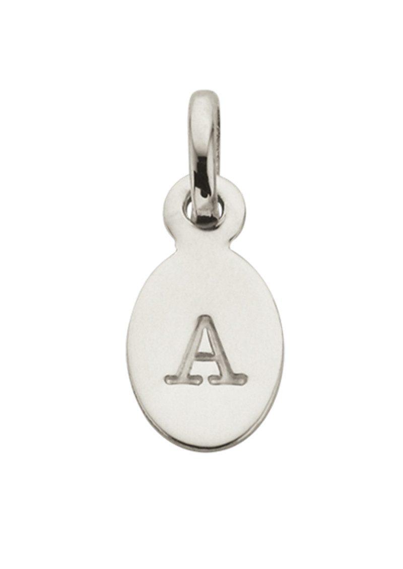 KIRSTIN ASH Bespoke Alphabet 'A' Charm - Silver main image