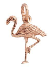 KIRSTIN ASH Bespoke Flamingo Charm - Rose Gold