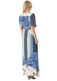 Hale Bob Aria Printed Maxi Dress - Blue