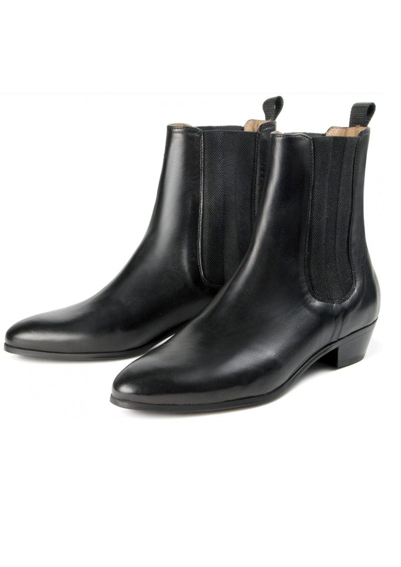 Hudson London Kenny Leather Boot - Black main image