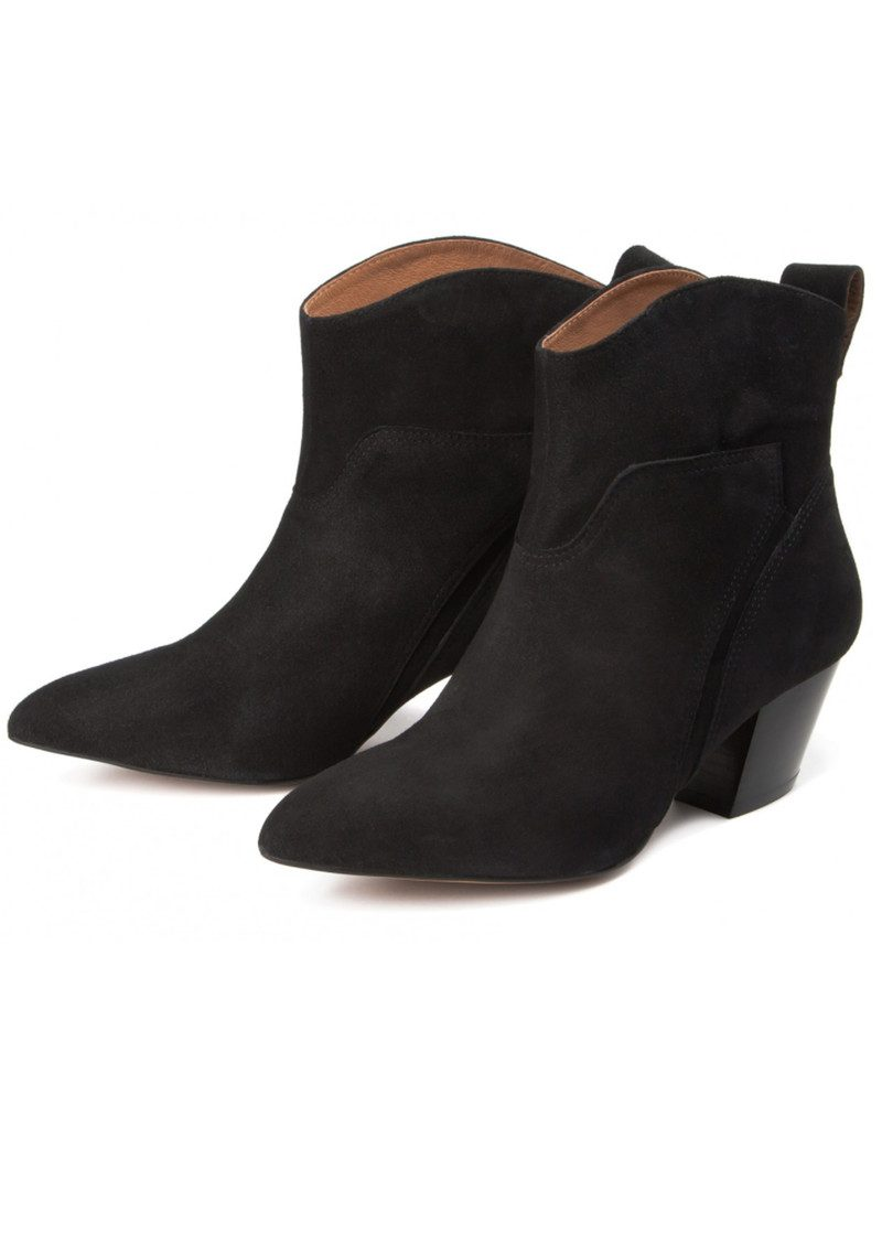 Karyn Suede Ankle Boot - Black main image