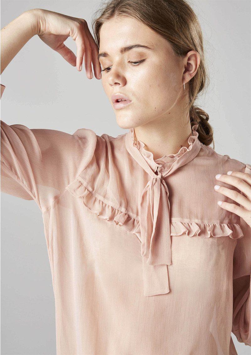 Twist and Tango Adeline Blouse - Rose main image