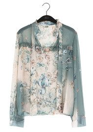 Twist and Tango Adeline Blouse - Poppy Flower