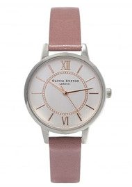 Olivia Burton Wonderland Watch - Rose, Silver & Rose Gold