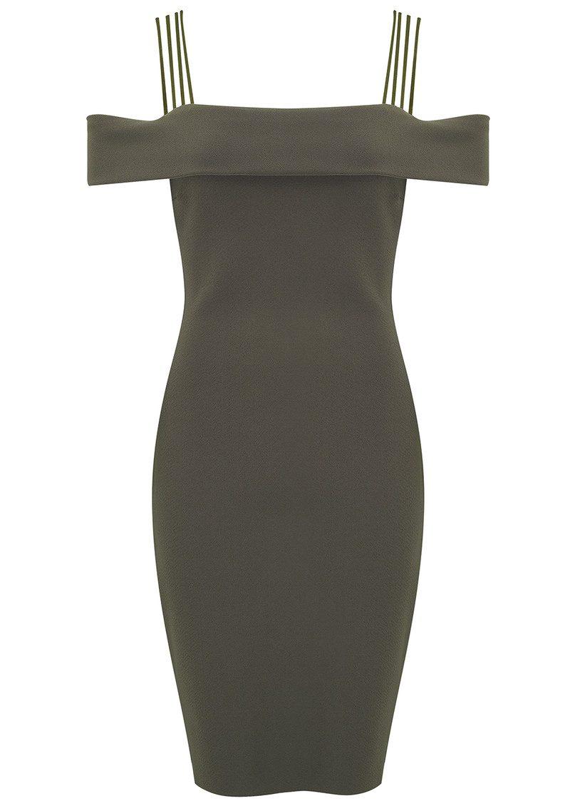 BEC & BRIDGE Metamorphic Mini Dress - Khaki main image
