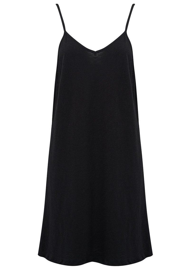 PITUSA Mini Pom Pom Dress - Black main image