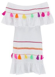 PITUSA Fiesta Dress - White
