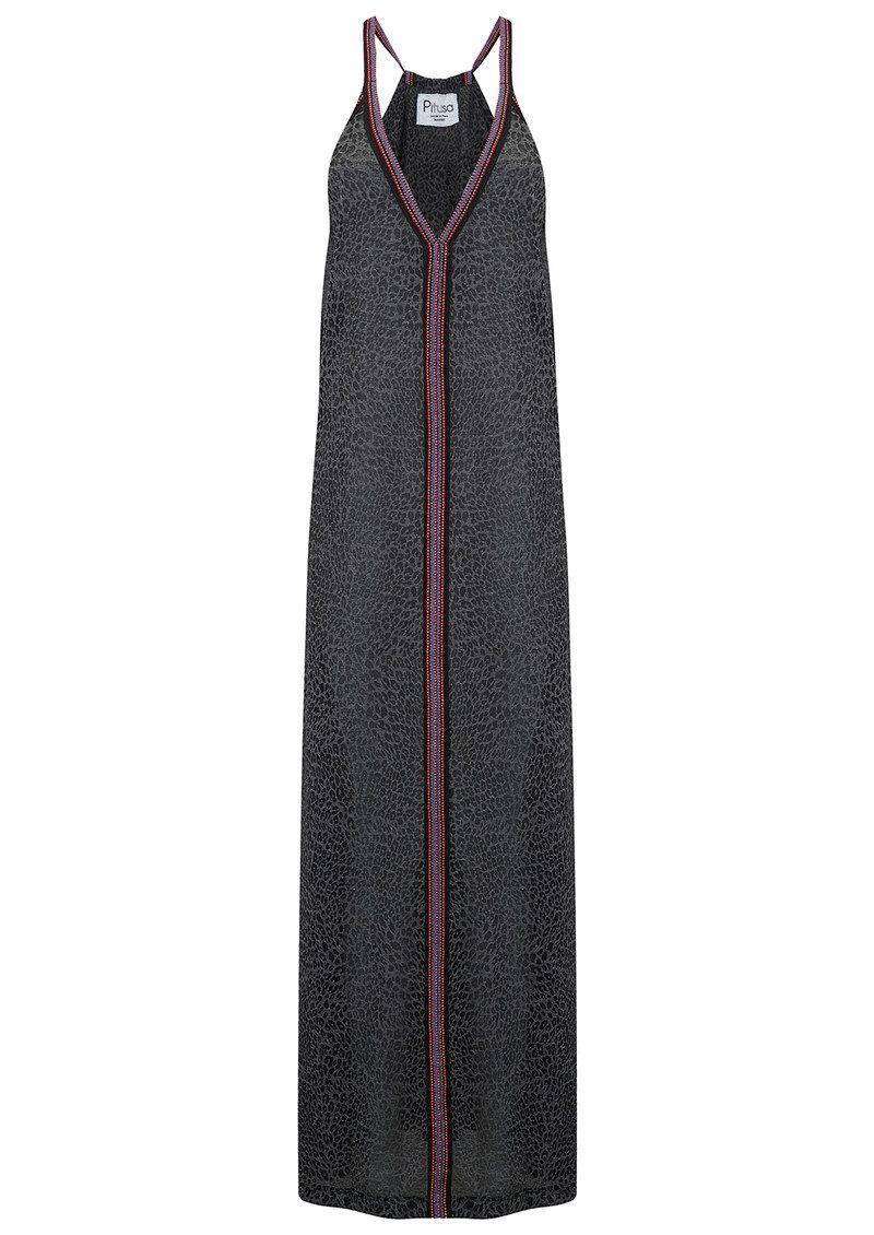 PITUSA Cheetah Sun Dress - Black main image