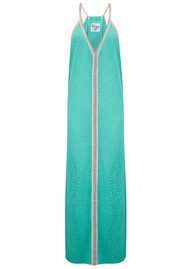 PITUSA Cheetah Sun Dress - Mint