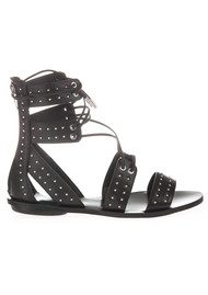 KENDALL & KYLIE Fabia Gladiator Sandals - Black