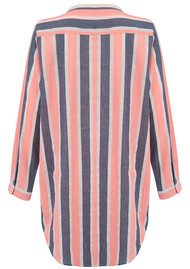 Lollys Laundry Lenora Cotton Shirt Dress - Stripe