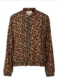 Lollys Laundry Menka Jacket - Leopard