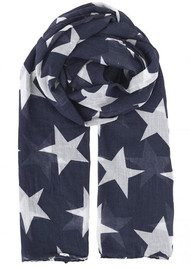 Becksondergaard Fine Twilight Cotton Scarf - India Ink