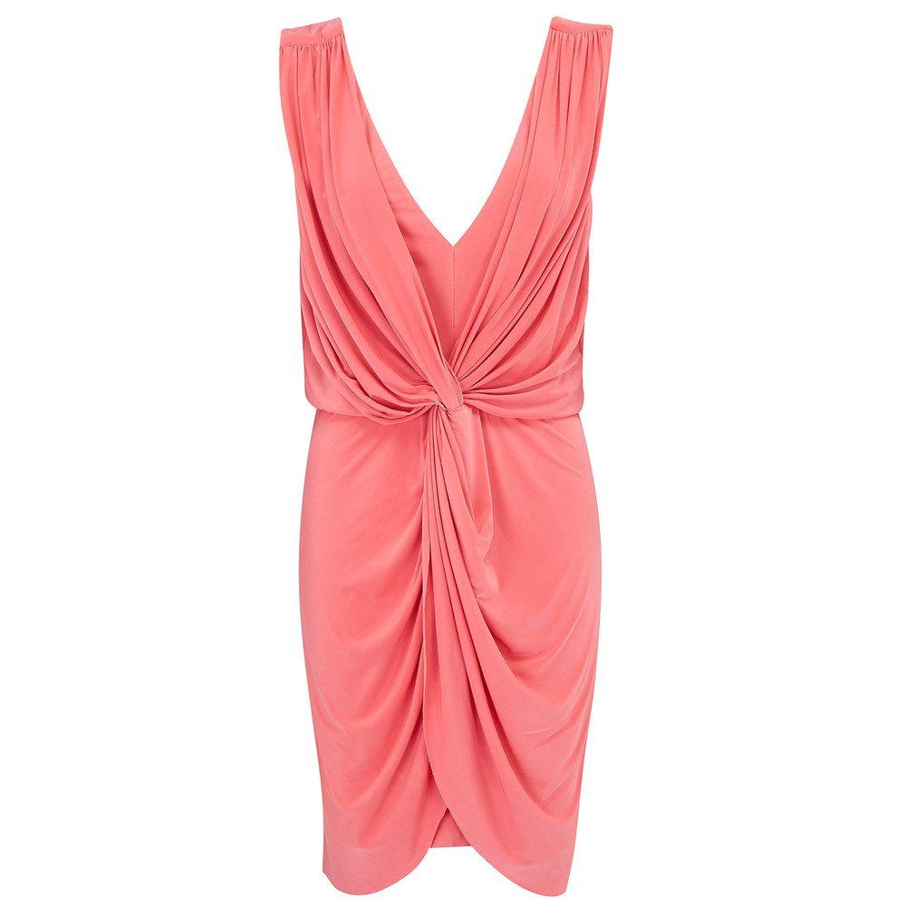 Leza Dress - Coral