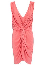 MISA Los Angeles Leza Dress - Coral