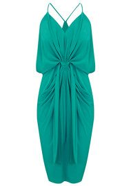 MISA Los Angeles Domino Spaghetti Strap Dress - Jade