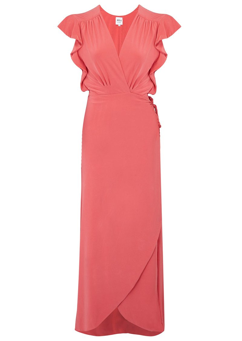 MISA Los Angeles Irina Dress - Coral main image