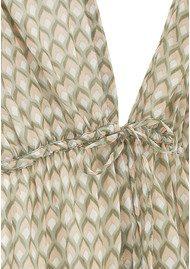 Rosemunde Debbie Blouse - Green Print