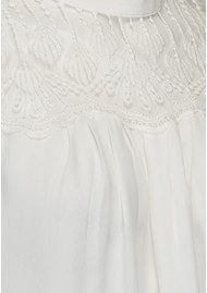 Rosemunde Dennie Lace Top - New White