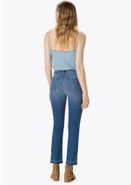 J Brand Ruby High Rise Cropped Cigarette Jeans - Virtuosity