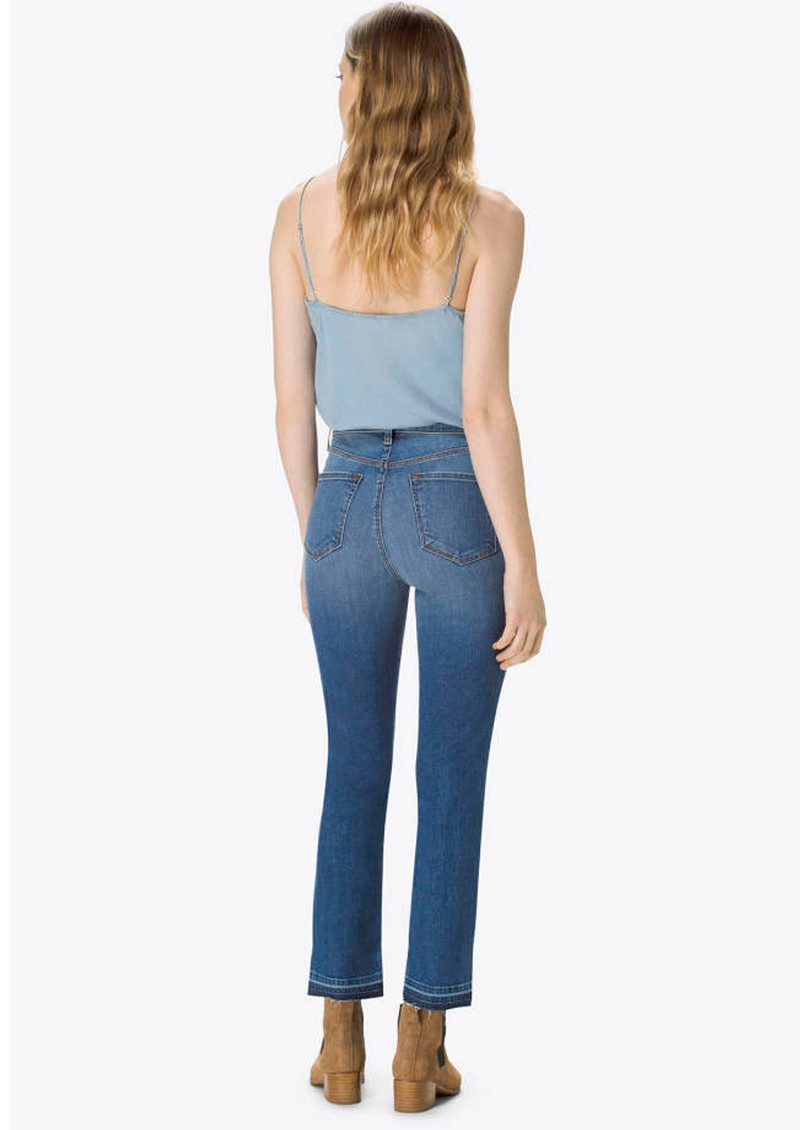 Ruby High Rise Cropped Cigarette Jeans - Virtuosity main image
