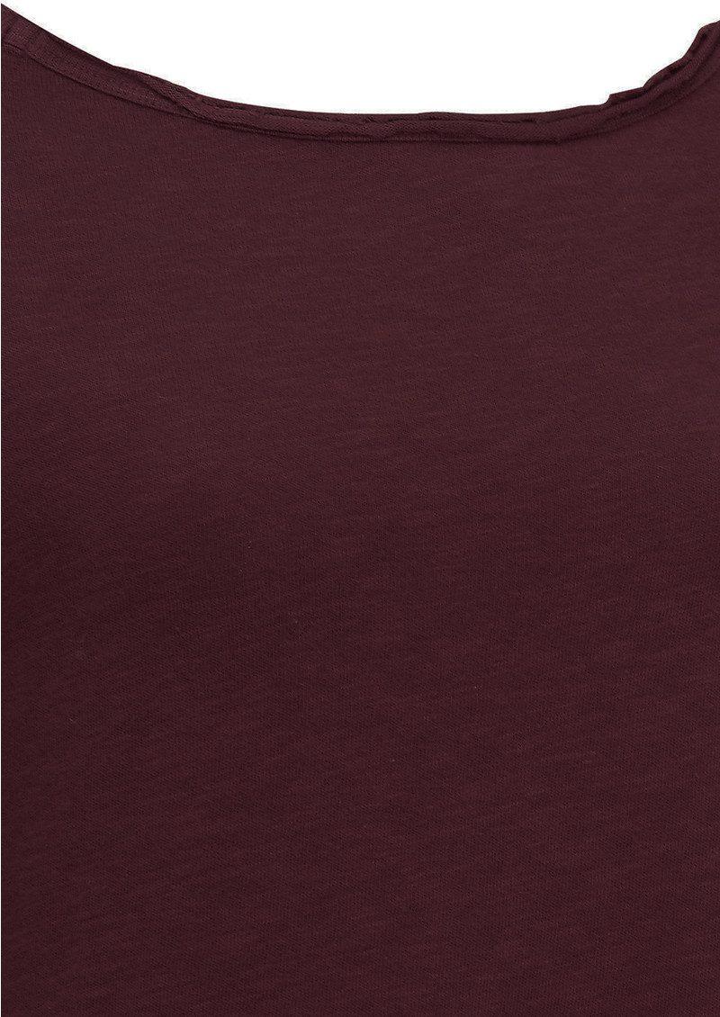 American Vintage Sonoma Long Sleeve Tee - Morello main image