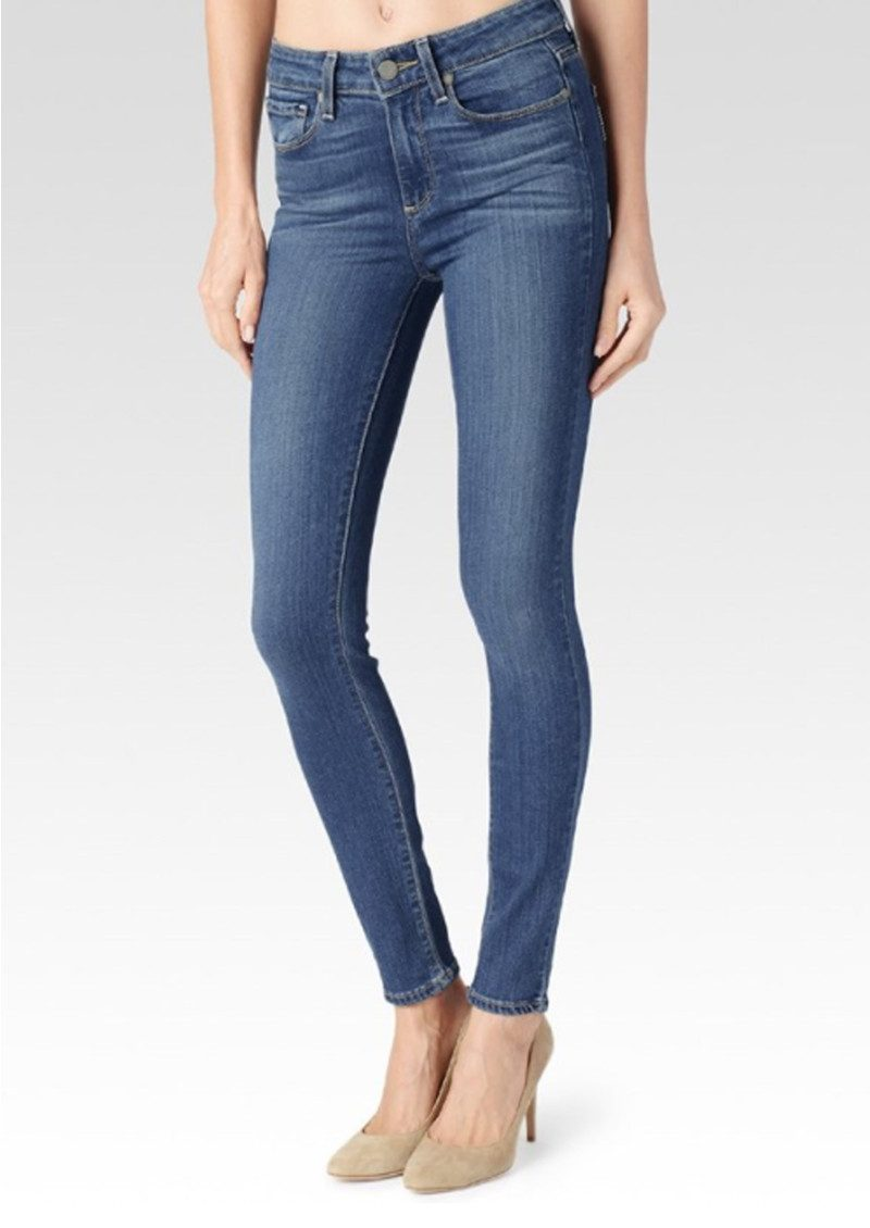 Paige Denim Hoxton High Rise Ultra Skinny Transcend Jeans - Tristan main image
