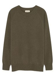 American Vintage Maxim Long Sleeve Cashmere Jumper - Rosemary