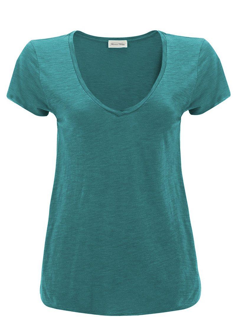 American Vintage Jacksonville Short Sleeve T-Shirt - Heron main image