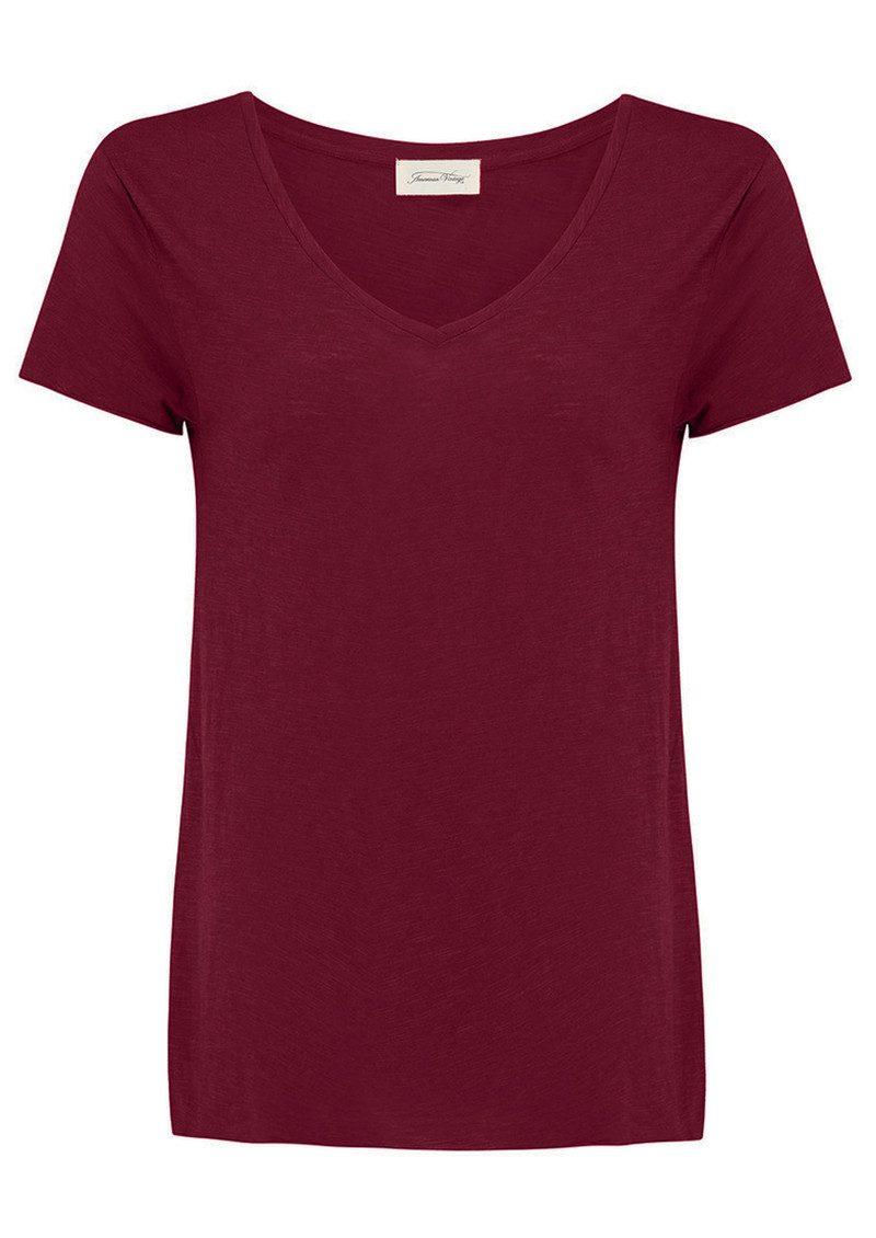 American Vintage Jacksonville Short Sleeve T-Shirt - Grenadine main image