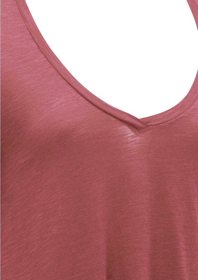 American Vintage Jacksonville Long Sleeved T-Shirt - Cherry Tree main image