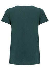 American Vintage Jacksonville Round Neck Tee - Parrot