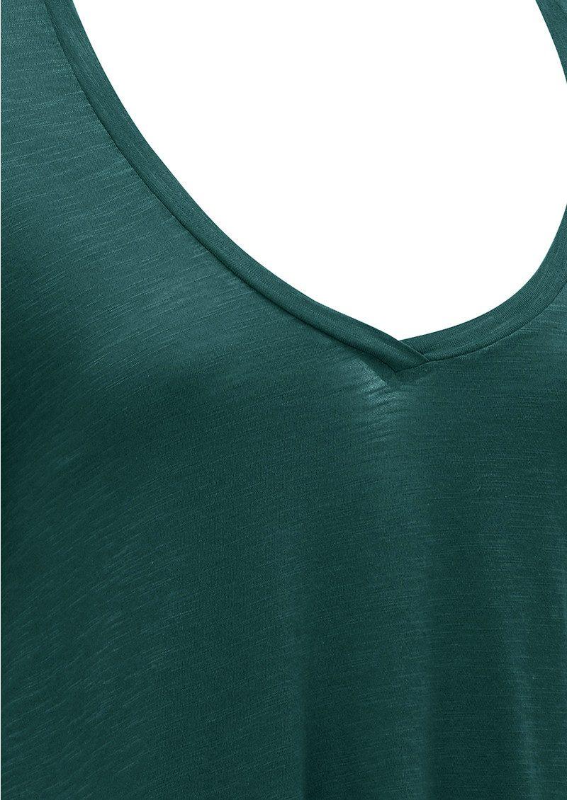 American Vintage Jacksonville Long Sleeved T-Shirt - Parrot main image