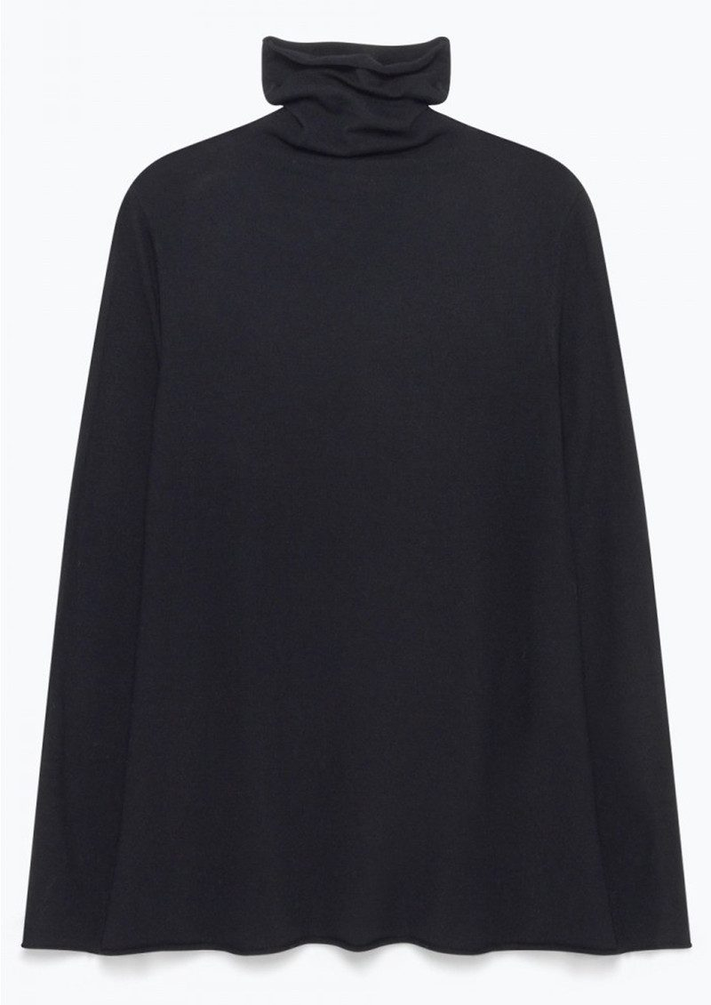 Lobaisland Polo Neck Jumper - Black main image