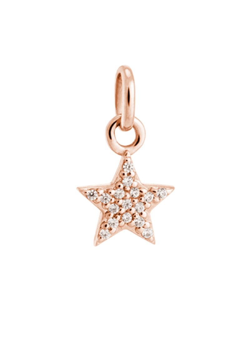 Bespoke Star Crystal Charm - Rose Gold main image