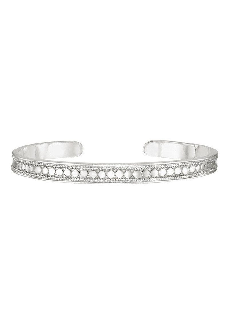 ANNA BECK Skinny Cuff - Silver main image