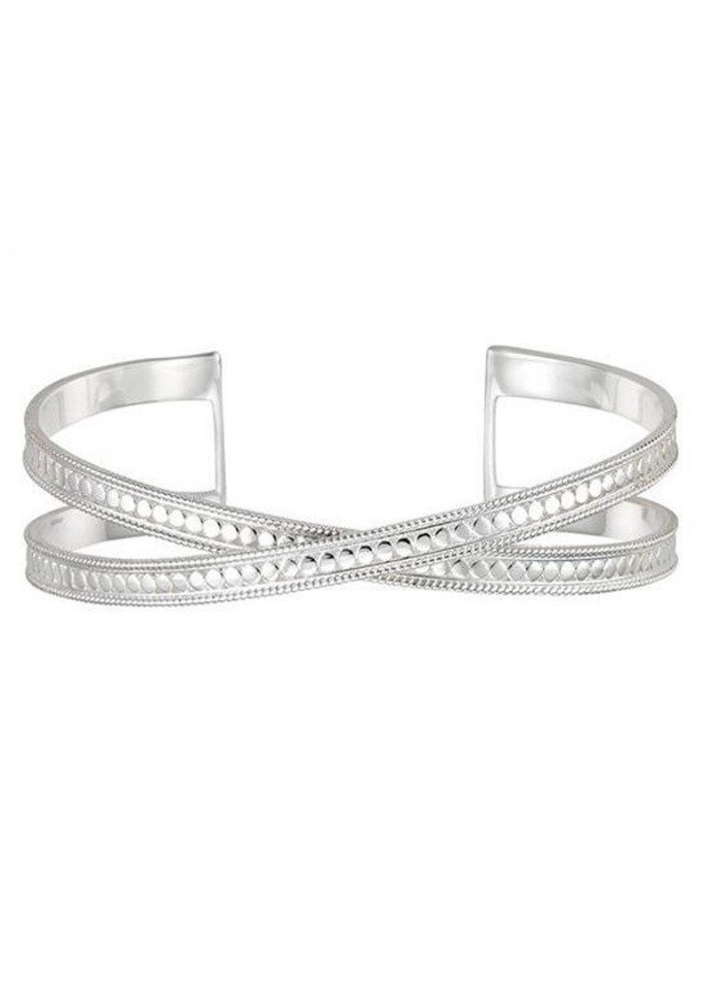 ANNA BECK Single Cross Cuff - Silver main image