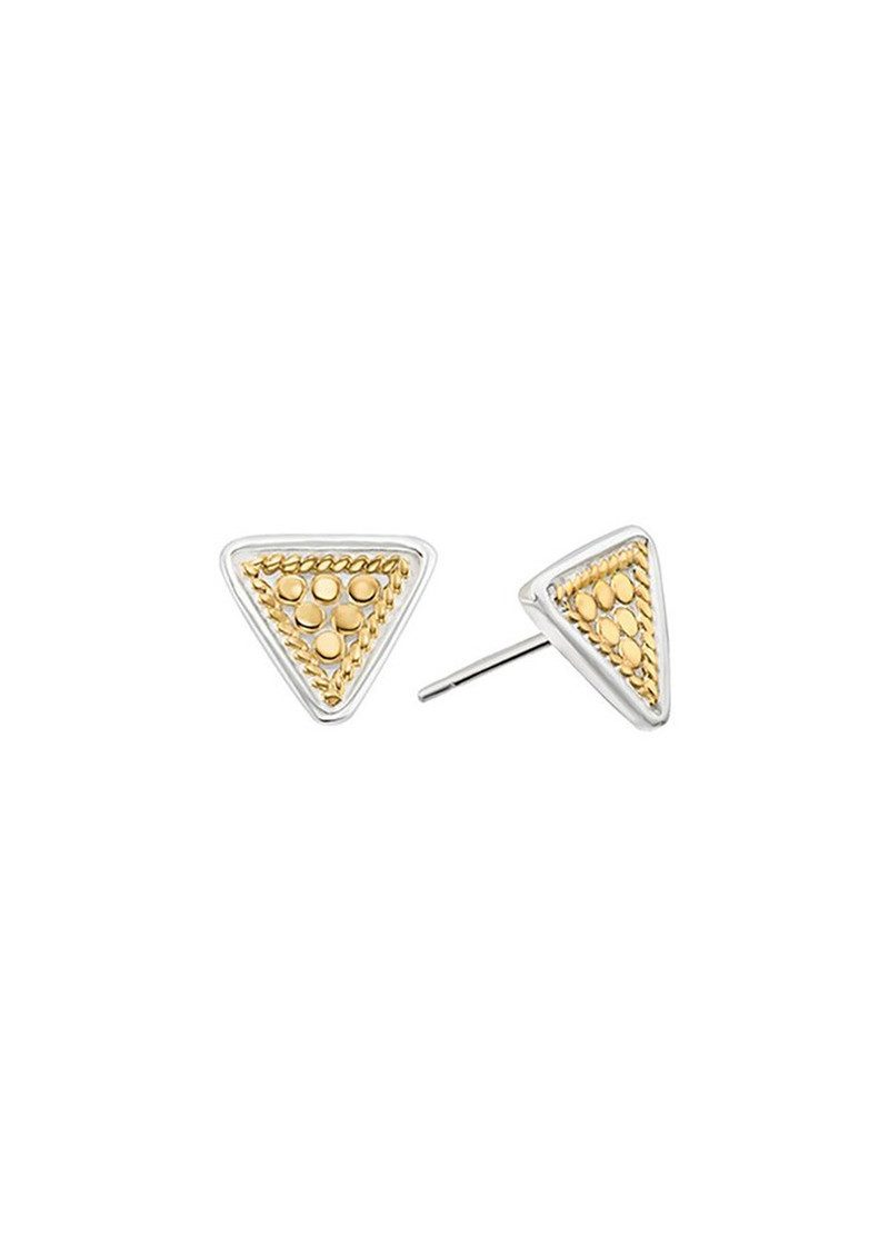 ANNA BECK Triangle Stud Earrings - Gold main image