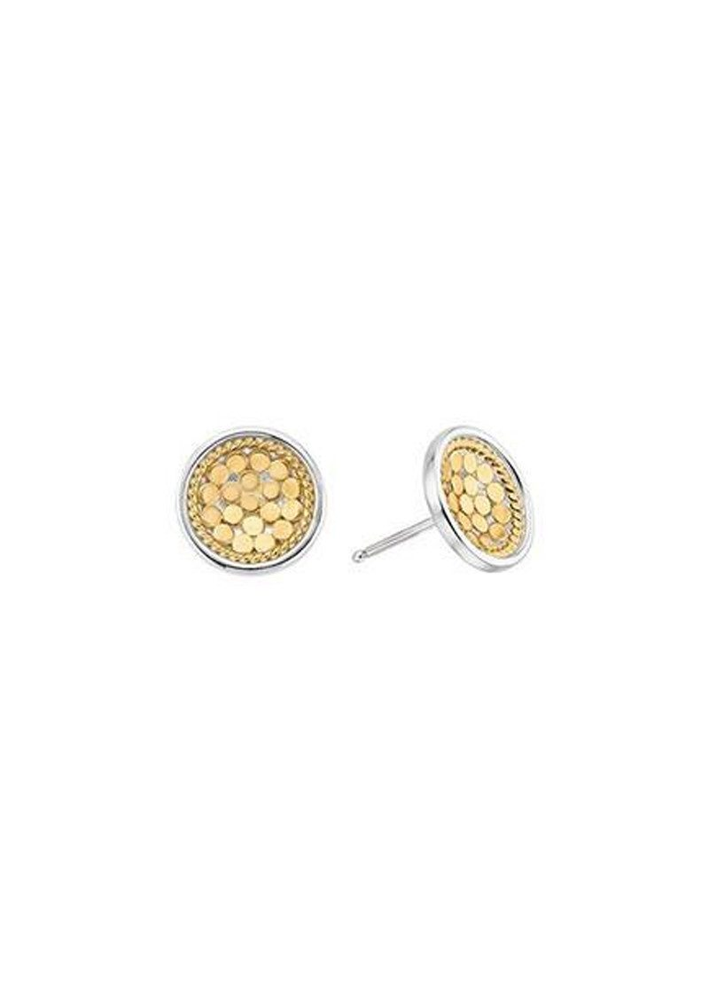 ANNA BECK Dish Stud Earrings - Gold main image