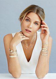 ANNA BECK Bar Necklace - Gold