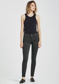 AG JEANS The Sateen Prima Cigarette Jean - Cavern